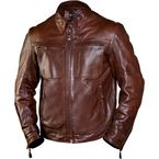 Tobacco City Leather Jacket - 0801-0209-0156