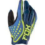 Blue Flexair Race Gloves - 10765-002-L