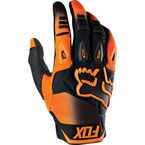 Orange Pawtector Race Gloves - 12005-009-M