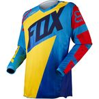 Kids Yellow/Blue 180 Vandal Jersey - 11452-586-M