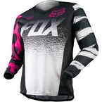 Youth Girls Black/Pink 180 Jersey - 12342-285-L