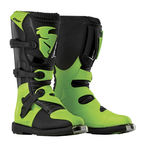 Black/Green Blitz CE Boots - 3410-1445