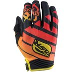 Black/Yellow/Red Renegade Gloves - 352166