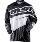 Black/White Axxis Jersey - 352289
