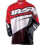 Black/Red Axxis Jersey - 352297