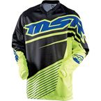 Youth Yellow/Black/Blue Axxis Jersey - 352323