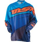 Youth Blue/Orange Axxis Jersey - 352330