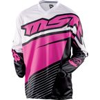 Womens Black/Pink Starlet Jersey - 352426