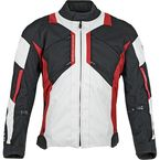 Black/Red Chain Reaction Jacket - 87-8494