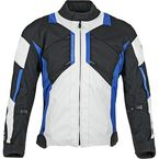 Black/Blue Chain Reaction Jacket - 87-8501