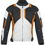 Black/Orange Chain Reaction Jacket - 87-8506