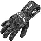 Black Lock N Load Leather Gloves - 87-5927