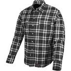 Black Nine Reinforced Moto Shirt - 87-8047