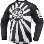 Black/White Jackknife Jersey - 2910-3428