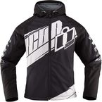 Womens Black/White Team Merc™ Jacket - 2822-0789