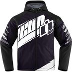 Black/White Team Merc Jacket - 2820-3324