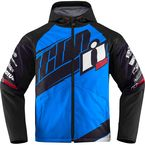 Light Blue/Black Team Merc Jacket - 2820-3337