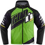 Green/Black Team Merc Jacket - 2820-3332