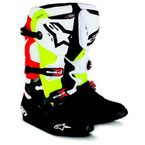 Black/Red/Yellow Tech 10 Boots - 2010014-1235-8