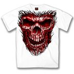 White Shredder Skull T-Shirt - GMS1297XXXL