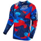 Blue/Red/Black Cosmic Camo SE Air Jersey - 302012303