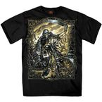 Black Reaper Chopper T-Shirt - GMS1304XXXL