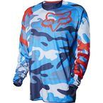 Blue Camo Limited Edition 180 Jersey - 14118-360-L