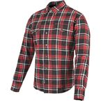 Red/Black Black Nine Reinforced Moto Shirt - 87-8952