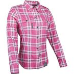 Womens Pink Smokin Aces Moto Shirt - 87-8959