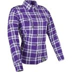 Womens Purple Smokin Aces Moto Shirt - 87-8965