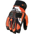 Black/Orange Comp RR Short Gloves - 3340-0993