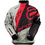 Gray/Black/Red Comp Jacket - 3120-1401