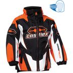 Kids Dark Orange Launch G1 Jacket - 70-7983