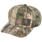 Realtree/Orange Droid Curved Snapback Hat - M35596328BLO