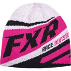 Womens Hot Pink Cold Cross Beanie - 16701
