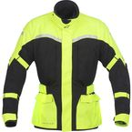 Black/Fluorescent Yellow Cape Town Air Drystar® Jacket - 3204012-155-L
