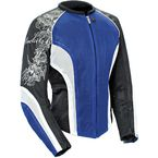Womens Blue/White/Black Cleo 2.2 Jacket - 1250-0204
