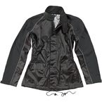 Womens Black RS-2 2-Piece Rainsuit - 1012-2005