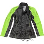Womens Black/Hi-Viz Neon RS-2 2-Piece Rainsuit - 1012-2405