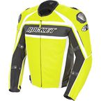 Radio Active Yellow Speedmaster Leather Jacket - 1430-1440