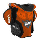 Youth Orange/Black Fusion 2.0 Neck Brace/Torso Protector - 1014010005
