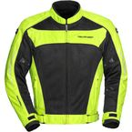 Hi-Vis Yellow/Black High Temp Mesh Jacket - 6055-0113-17