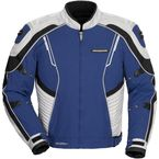 Royal Blue/Silver Shadow Jacket - 6053-0102-08