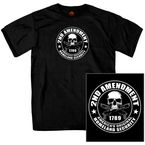 Black 2nd Amendment T-Shirt - GMD1158M