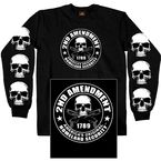 Black 2nd Amendment Long Sleeve T-Shirt - GMD2158XL