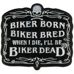 Biker Born Patch - PPA2072