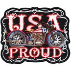USA Proud Bobber Patch - PPA7490