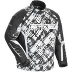 White/Black Blitz 2.1 Snowcross Jacket - 8927-1409-06