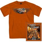 Texas Orange Main Street Photo T-Shirt - SPM1412-L
