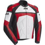 Red/White/Black Adrenaline Leather Jacket - 8971-0101-05
